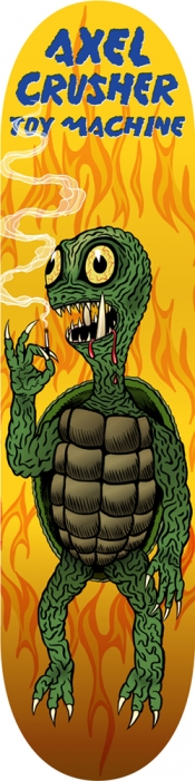 https://ed-templeton.com:443/files/gimgs/th-170_Axel-Crusher-Turtle-Boy-Gamera-deck.jpg